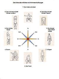 Tai chi und 8 Brokate Himmelsrichtungen